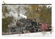 Snow And Steam Carry-all Pouch