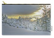 Snow And The Sierra Highway 88 Carry-all Pouch