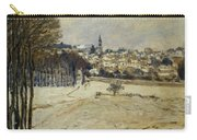 Snow At Marly-le-roi Carry-all Pouch