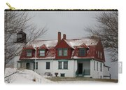 Snow At Point Betsie Carry-all Pouch