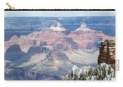 Snow At The Grand Canyon Carry-all Pouch