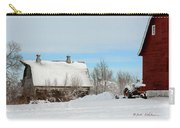 Snow Barns Carry-all Pouch