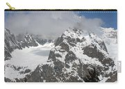 Snow Bowl In Italian Alps Carry-all Pouch