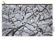 Snow Branches 2-1-15 Carry-all Pouch