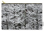 Snow Branches Carry-all Pouch