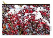 Snow Capped Berries Carry-all Pouch