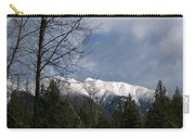 Snow Capped Carry-all Pouch