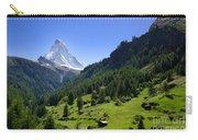 Snow-capped Matterhorn Carry-all Pouch