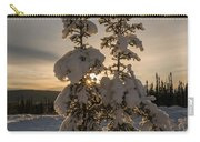 Snow Capped Sitka Spruce Carry-all Pouch