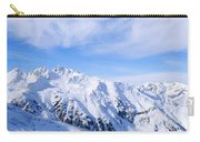 Snow Covered Alps, Schonjoch, Tirol Carry-all Pouch