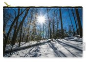 Snow Covered Forest Carry-all Pouch