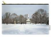 Snow Covered Guilford Carry-all Pouch