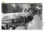 Snow Covered History Carry-all Pouch