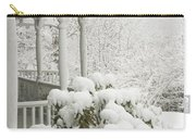 Snow Covered Porch Carry-all Pouch