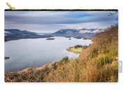 Snow Covered Skiddaw Above Derwent Water Carry-all Pouch