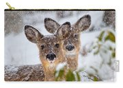 Snow Does Carry-all Pouch