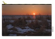 Snow Dune Sunset Seaside Park Nj Carry-all Pouch