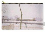 Snow Effect Effet De Neige Pastel On Paper C. 1880-1885 Carry-all Pouch