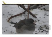 Snow Finch Carry-all Pouch