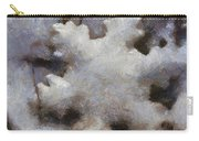 Snow Flake Enjoy The Beauty Photo Art Carry-all Pouch