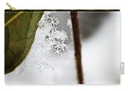 Snow Flakes Carry-all Pouch