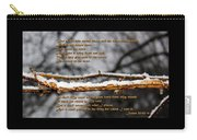 Snow From Heaven Carry-all Pouch