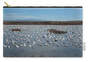 Snow Geese Bosque Carry-all Pouch