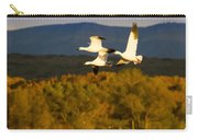 Snow Geese Flying In Fall Carry-all Pouch
