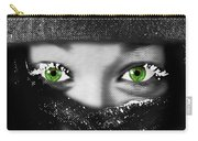 Snow Girl Square Carry-all Pouch