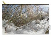 Snow Grass Carry-all Pouch