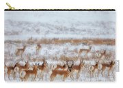 Snow Grazers Carry-all Pouch by Darren  White