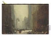 Snow In New York Carry-all Pouch