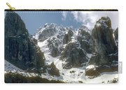 Snow In The Dolomites Carry-all Pouch
