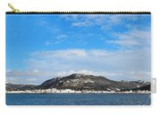 Snow In The Harbour Carry-all Pouch