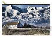 Snow In The Mountains Carry-all Pouch