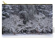 Snow In The Valley Carry-all Pouch