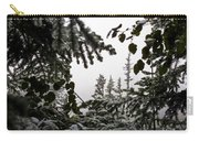 Snow In Trees At Narada Falls II Carry-all Pouch