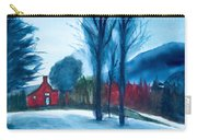 Snow In Vermont Carry-all Pouch