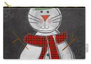 Snow Kitten Carry-all Pouch
