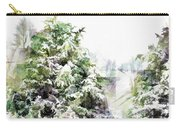 Snow Laden - Digital Effect IIi Carry-all Pouch