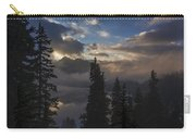 Snow Lake Sunset Carry-all Pouch