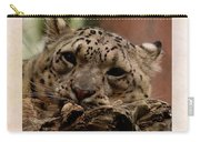 Snow Leopard 17 Carry-all Pouch