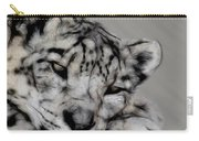 Snow Leopard Digital Art Carry-all Pouch
