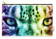 Snow Leopard Eyes 2 Carry-all Pouch