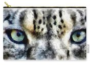 Snow Leopard Eyes Carry-all Pouch