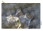 Snow Leopard    No.2 Carry-all Pouch