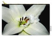 Snow Lilly Carry-all Pouch