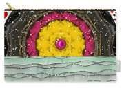 Snow Love Pop Art Carry-all Pouch