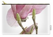 Snow Magnolia Painterly 1 Carry-all Pouch