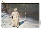 Snow Maiden 1899 By Vasnetsov  Carry-all Pouch by Movie Poster Prints
